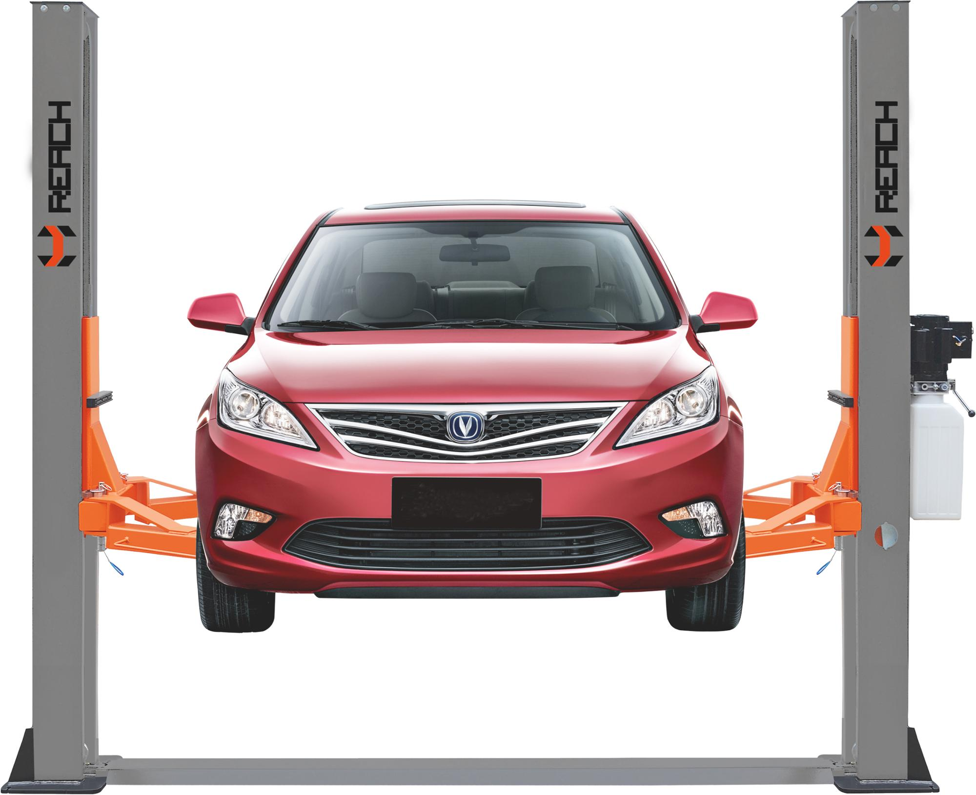 Adjustable Overall Width(mm)and CE Certification Two Post Car Lift Featured Image