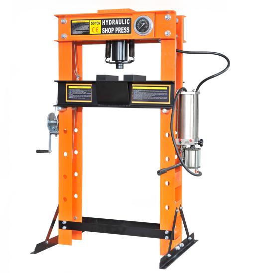 RH-97356   Wholesale Hydraulic /Pneumatic shop press 50T Featured Image