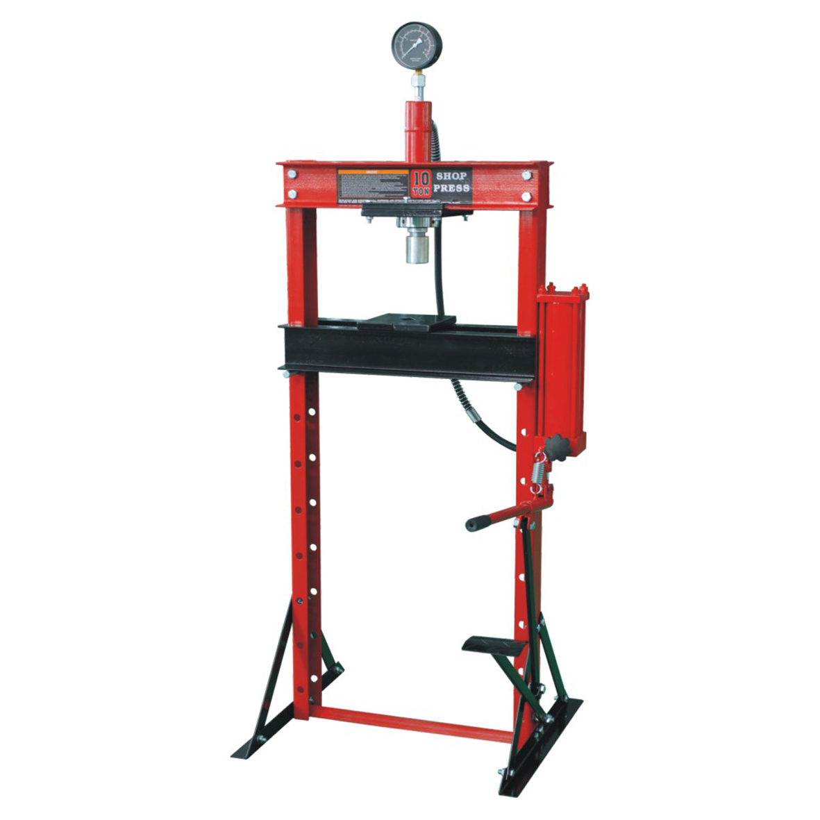 0901H 50T SHOP PRESS WITH GAUGE Featured Image