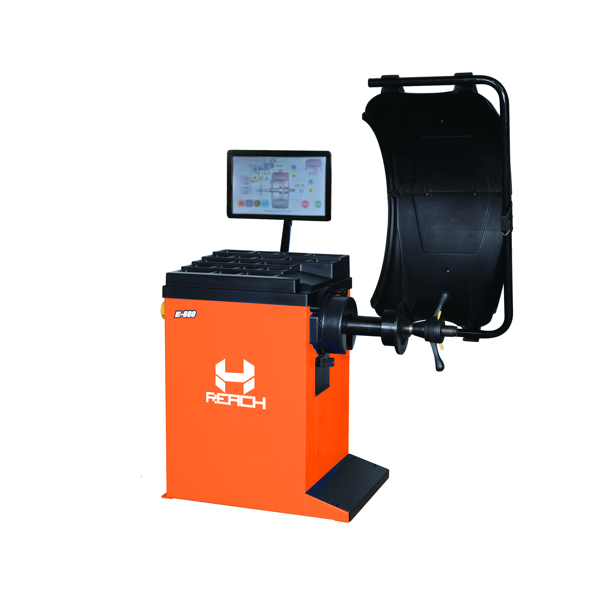 RH-E600 Intelligent Tyre Wheel Balancer Machine Featured Image