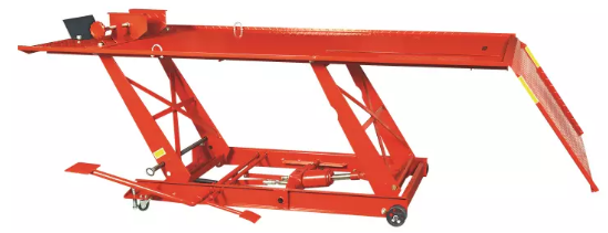 Aluminium Hydraulic Motorcycle Lift Featured Image
