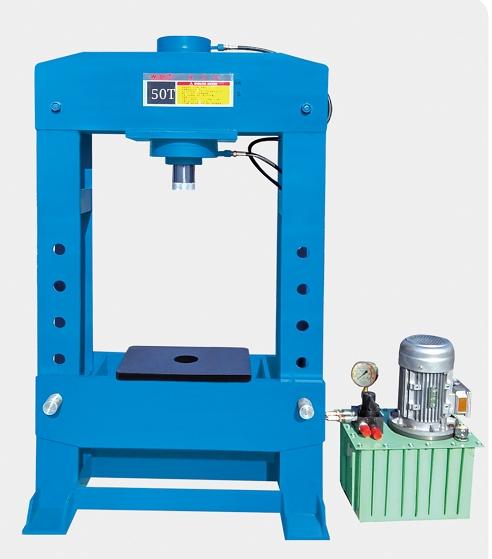 50Telectro- Hydraulic Shop Press/Tool Shop/ Hydraulic Press Machine Featured Image