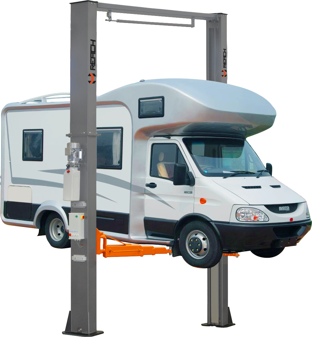 RH-C6000ES 6 Tons two post truck lift for service station Featured Image