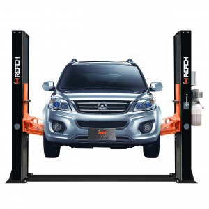 RH-BS4000 Cheap 4 tons double cylinder 2 post car lifts with CE