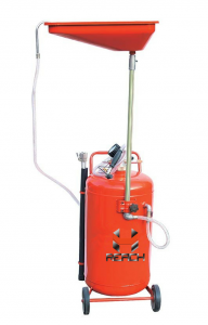 Portable collecting oil machine with 80L