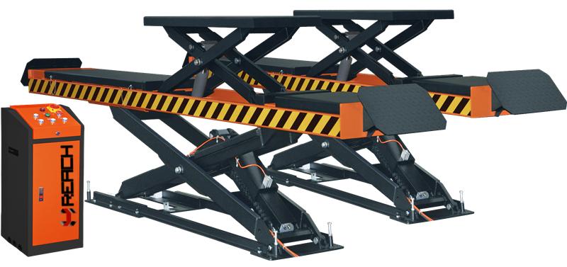 hot new 4T pneumatic scissor car lift Featured Image