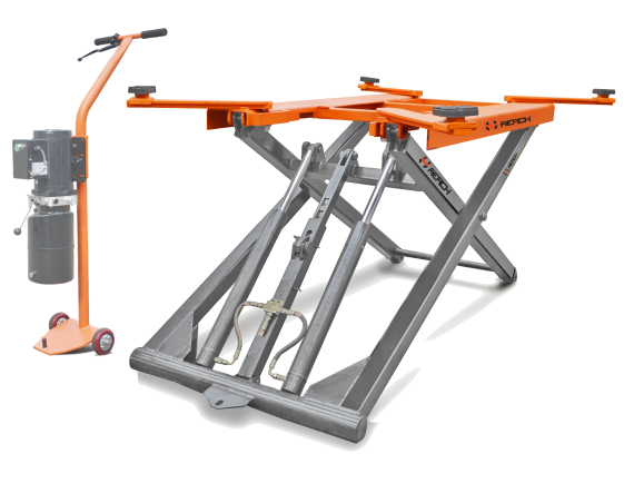 Hot New Portable Small Scissor Lift with CE Featured Image