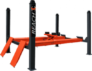 4RH-4000B Four post car lift with alignment jack 4 tons for sale