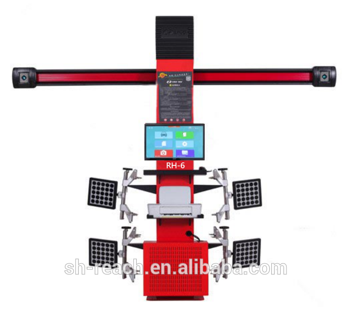 RH-6 good quality wheel alignment and balancing machine Featured Image