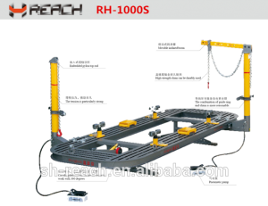 RH-1000S Car body alignment bench/ Auto body frame machine