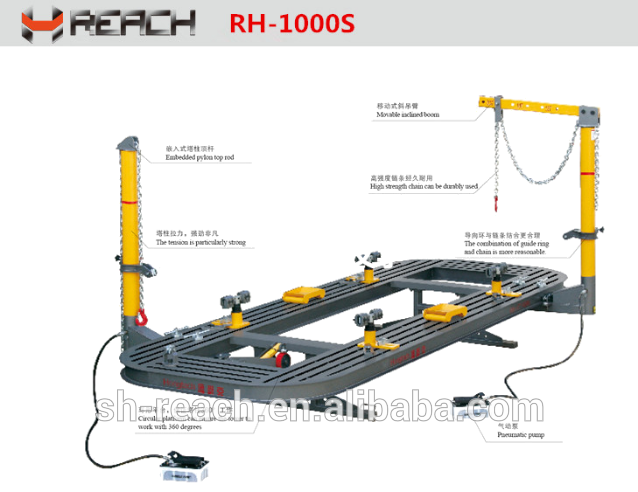 Car body alignment bench/ Auto body frame machine Featured Image