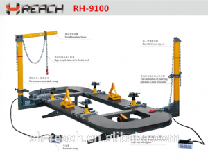 RH-9100 Car Body Frame Alignment Bench