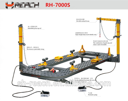 High Quality Auto Body Repair Bench/ Car Frame Machine - Shanghai ...