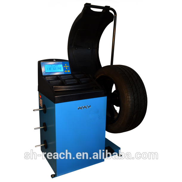 CE approved cheap wheel balancer /Tyre balancing machine/ China Wheel Balancer Featured Image