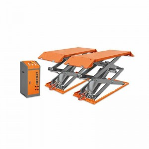 RH-F3000 3ton scissor car lift in ground on sale