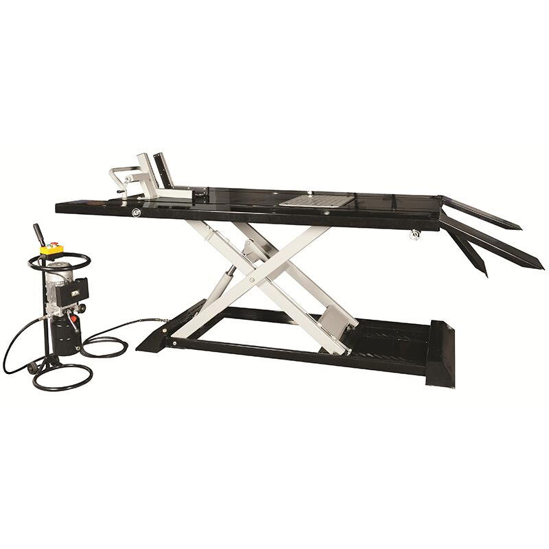 small hydraulic motorcycle lift with 2200LB Featured Image
