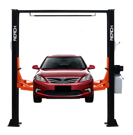 RH-C4000MS 4000kg clear floor two post car lift/2 post car lifts /vehicle service lifters Featured Image