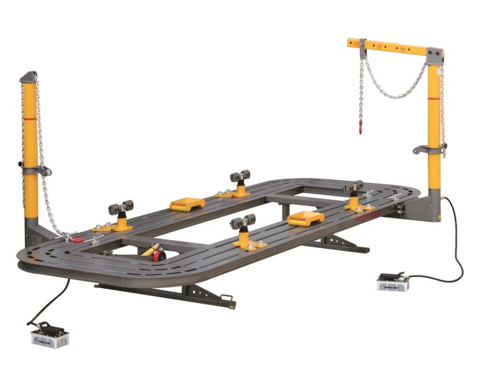 RH-5000S Auto Body Repair Frame Machine/Car Chassis Straightening Bench/Car Frame Bench Featured Image
