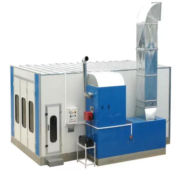 Customized workshop large spray booth Featured Image