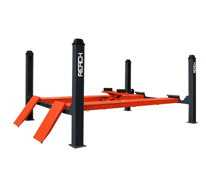 4RH-4000B High quality Four Post Car Lift For Wheel Alignment Equipment Featured Image