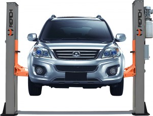 RH-B5500ES New Design 5.5 Tons Two Post Hydraulic Car Lifts For Home Garages