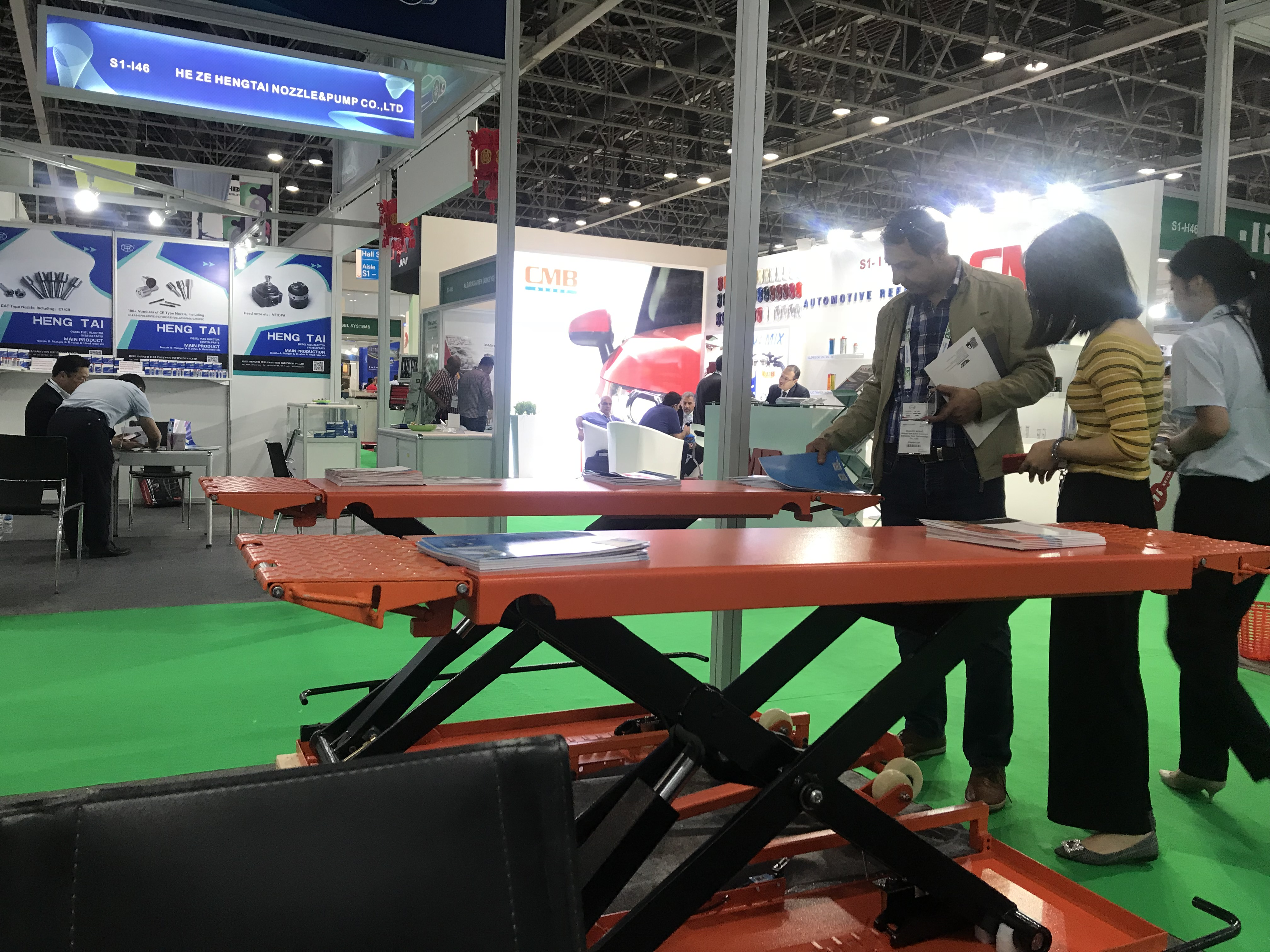 We participated in the automechanika DUBAI on May 1st, 2018