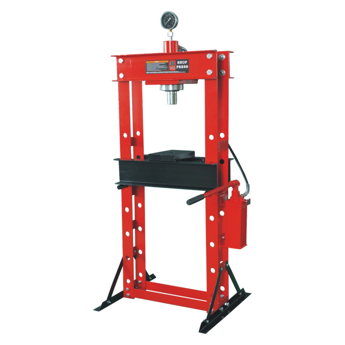 0901D 30T SHOP PRESS WITH GAUGE Featured Image