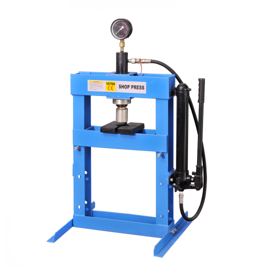 10t Hydraulic Shop Press Featured Image