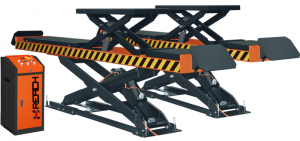 RH-H4000 CE&ISO Certification and Scissor Design car scissor lift for sale
