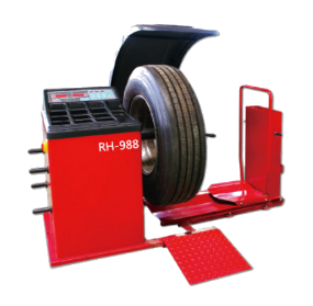 RH-988 Factory Price High Quality Mobile Truck Wheel Balancer With CE
