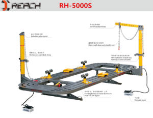 RH-5000S Auto Frame machine/Collision Repair System for hot sale