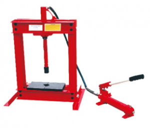 Hydraulic Bench Shop Press with Gauge