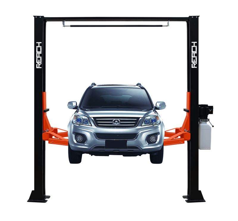 RH-C4000 on ground workshop 2 post car lifts with 4T Featured Image
