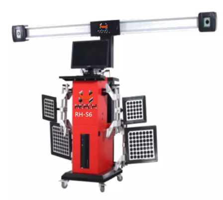 RH-S6 CE certificated 3D car wheel aligner equipment low price Featured Image