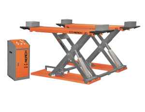 Mid Rise Scissor Car Lift With 3T