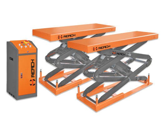 Hydraulic garage scissor car lift Featured Image