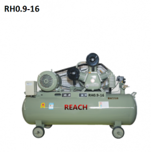 RH0.9-16 Portable Piston Air Compressor Machine 7.5KW/10HP