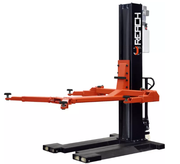 Portable car lift single post car lifts with 2.5T Featured Image