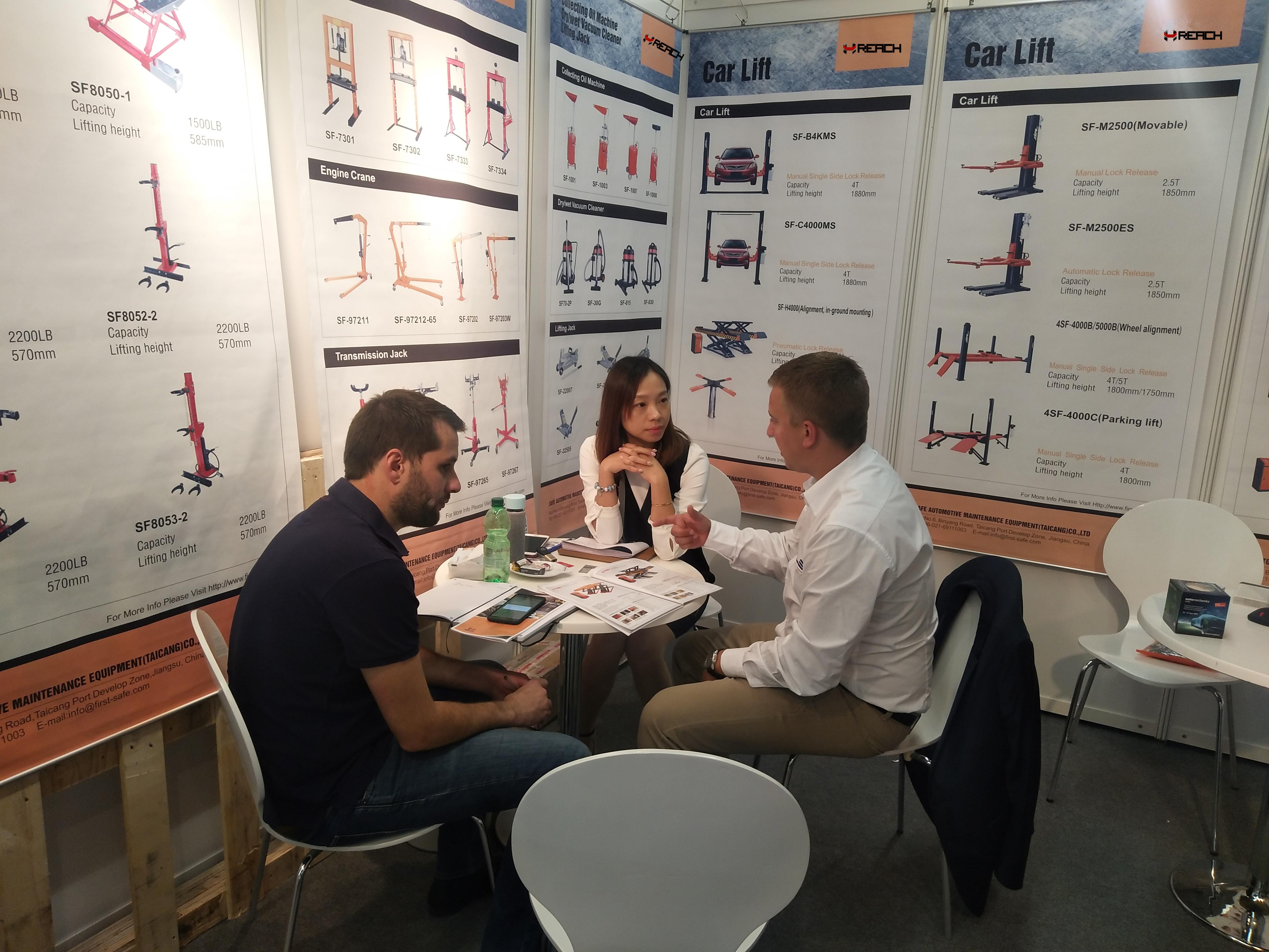 We attended Automechanika Frankfurt in september