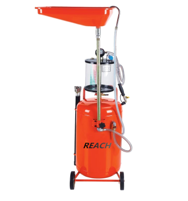 RH-1003 Collecting oil machine and oil drain equipment with measuring cup Featured Image