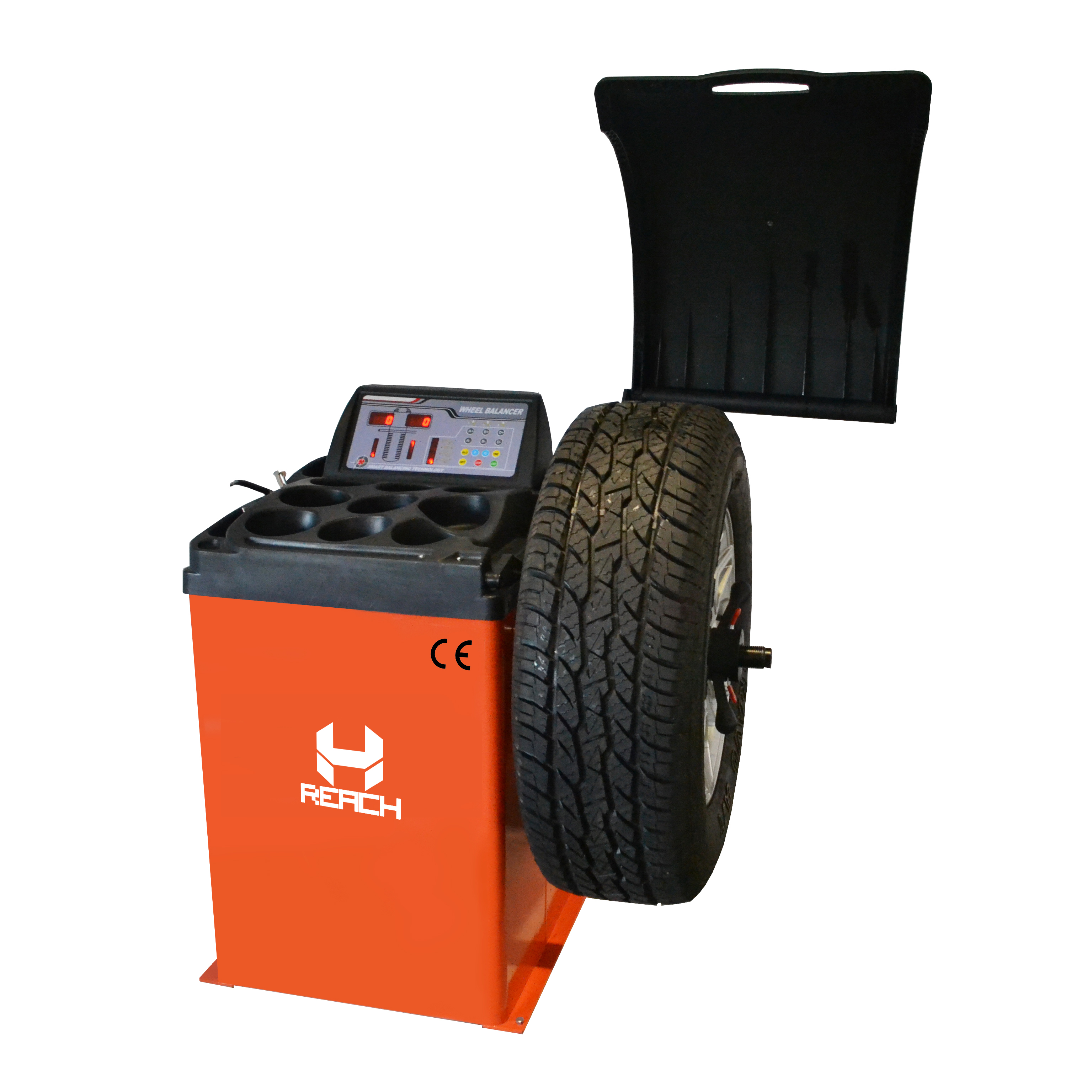 RH-70B hot new car wheel balancer with automatic Featured Image