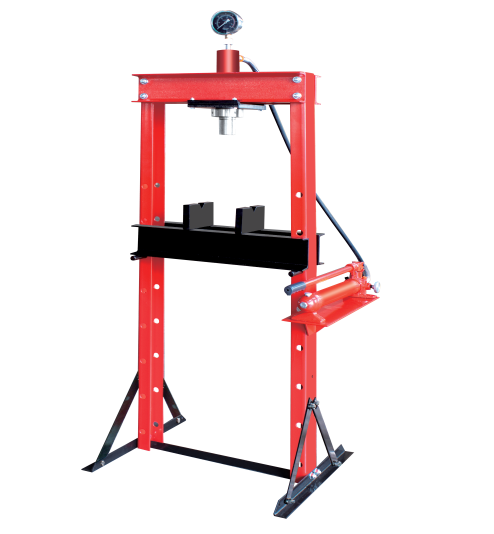 RH-97334 30T Hydraulic shop press with gauge Featured Image