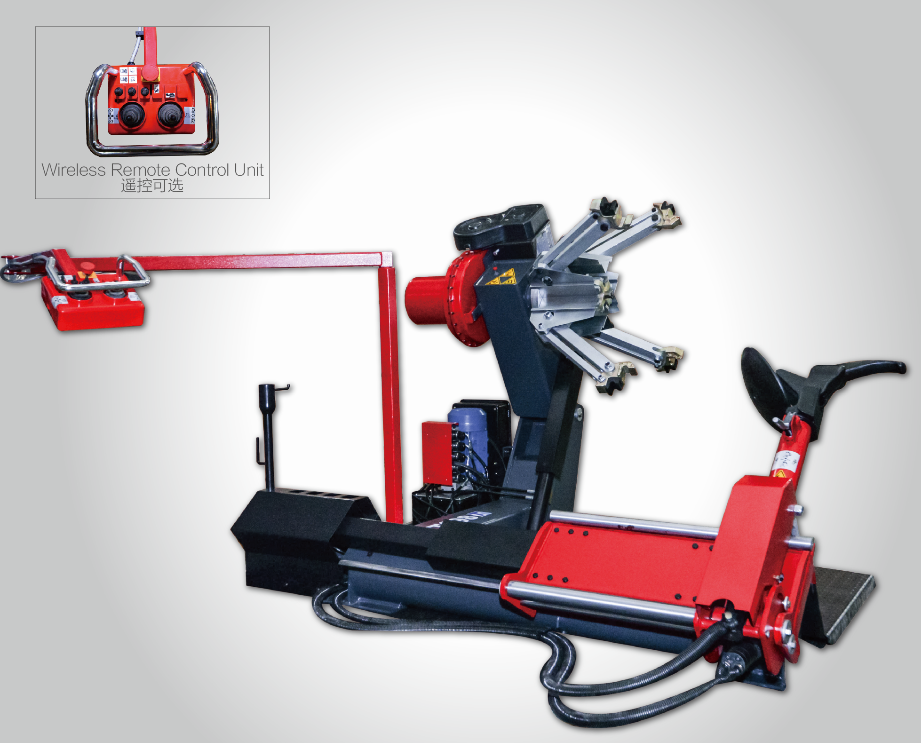 RH-698 Fully-automatic universal truck tyre changer machine Featured Image