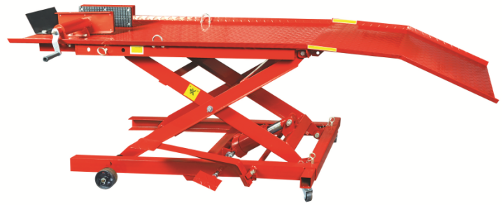 Mini China Hydraulic Motorcycle Lift With Scissor Frame Structure Featured Image