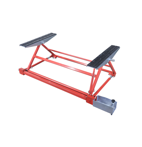 1500KG Mini Tilting Car Lift Adjustable Lift With CE Featured Image