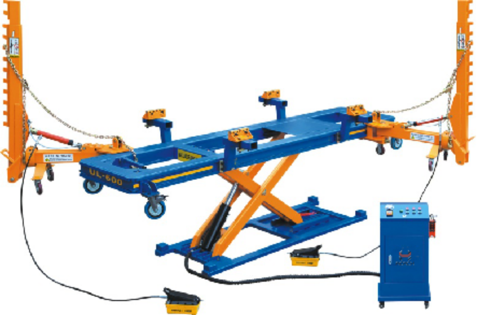 RH-600 Car bench /Collision Repair System Featured Image