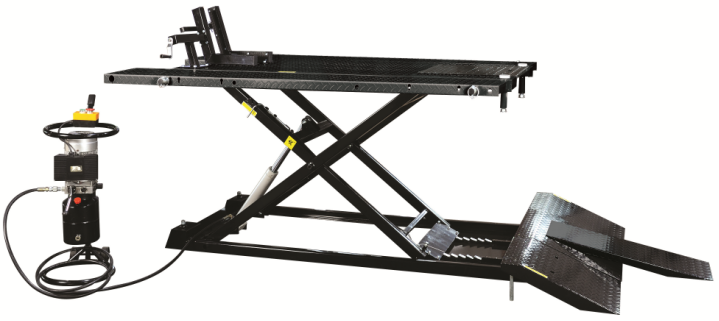 1500LB Hydraulic Scissor Motorcycle Lift Featured Image